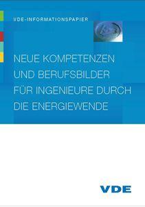 """Bild von VDE-Informationspapier """"Neue Kompetenzen und Berufsbilder für Ingenieure durch die Energiewende"""" (Download)"""