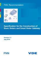 Bild von FNN-Recommendation: Specification for the Construction of Basic Meters and Smart Meter Gateways - Version 1.1 (Download)