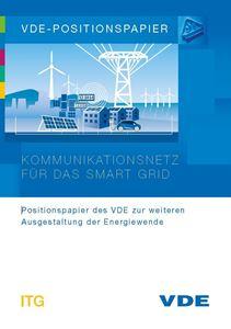 """Bild von VDE-Positionspapier """"Kommunikationsnetz für das Smart Grid"""" (Download)"""