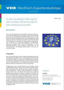 Bild von VDE MedTech Expertenbeiträge Spezial April 2015 (Download)
