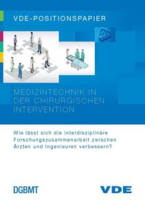 "Picture of VDE-Positionspapier ""Medizintechnik in der chirurgischen Intervention"" (Download)"
