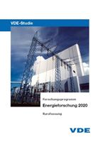 Bild von VDE-Studie: Energieforschung 2020 - Kurzfassung (Download)
