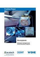 "Bild von Position Paper ""Bioimplants — biological, biologised and biofunctionalised implants"" (Download)"