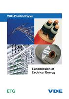 """Picture of VDE-Position Paper """"Transmission of Electrical Energy"""" (Download)"""