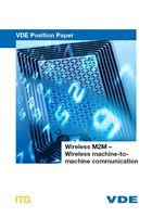 """Bild von VDE Position Paper """"Wireless M2M – Wireless machine-to-machine communication"""" (Download)"""