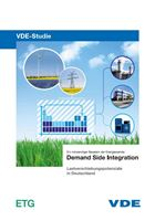 "Bild von VDE-Studie ""Demand Side Integration - Gesamttext (Download)"