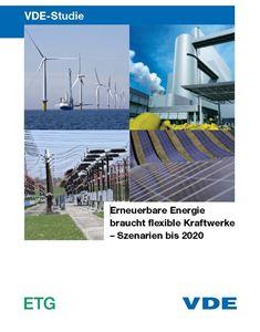 """Bild von VDE-Studie """"Erneuerbare Energie braucht flexible Kraftwerke - Szenarien bis 2020"""""""