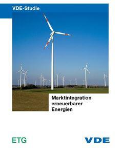 """Bild von VDE-Studie """"Marktintegration erneuerbarer Energien"""" (Download)"""