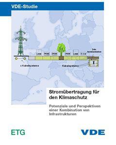 """Bild von VDE-Studie """"Stromübertragung für den Klimaschutz"""""""