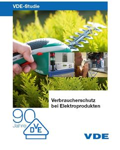 """Bild von VDE-Studie """"Verbraucherschutz bei Elektroprodukten"""" (Download)"""