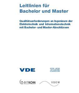 Bild von Leitlinien für Bachelor und Master (Download)