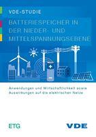 """Bild von VDE-Studie """"Batteriespeicher in der Nieder- und Mittelspannungsebene"""" (Download)"""