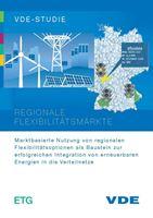 """Bild von VDE-Studie """"Regionale Flexibilitätsmärkte"""" (Download)"""
