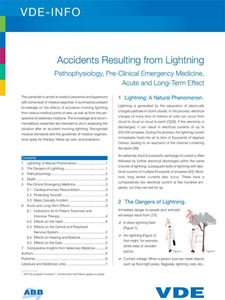 Picture of Accidents Resulting from Lightning (Download)