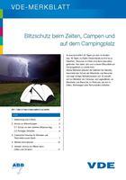 Bild von Blitzschutz beim Zelten, Campen und auf dem Campingplatz (Print)