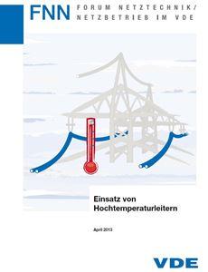 Bild von Einsatz von Hochtemperaturleitern (FNN-Hinweis, Download)