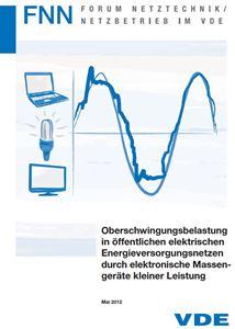 Bild von Oberschwingungsbelastung in öffentlichen elektrischen Energieversorgungsnetzen durch elektronische Massengeräte kleiner Leistung (FNN-Hinweis, Download)