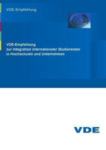 Picture of VDE-Empfehlung zur Integration internationaler Studierender in Hochschulen und Unternehmen