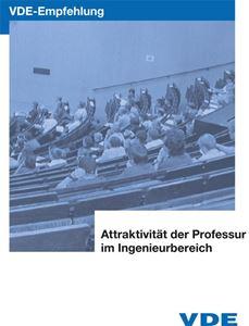Bild von VDE-Empfehlung: Attraktivität der Professur im Ingenieurbereich (Download)