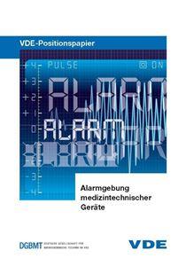 """Bild von VDE-Positionspapier """"Alarmgebung medizintechnischer Geräte"""""""