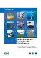 """Bild von VDE-Studie """"Aktive Energienetze im Kontext der Energiewende"""" (Print)"""