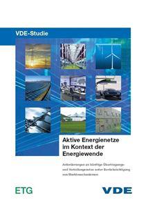 """Bild von VDE-Studie """"Aktive Energienetze im Kontext der Energiewende"""""""