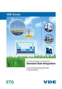 """Bild von VDE-Studie """"Demand Side Integration - Gesamttext"""