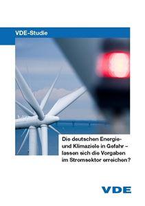 """Bild von VDE-Studie """"Die deutschen Energie- und Klimaziele in Gefahr"""""""