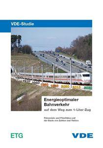 """Bild von VDE-Studie """"Energieoptimaler Bahnverkehr"""""""