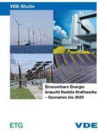 """Bild von VDE-Studie """"Erneuerbare Energie braucht flexible Kraftwerke - Szenarien bis 2020"""" - Gesamttext (Print)"""
