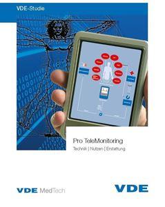 """Bild von VDE-Studie """"Pro TeleMonitoring"""""""