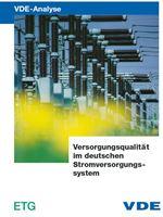 Picture of VDE-Studie: Versorgungsqualität im deutschen Stromversorgungssystem - Langfassung (Print)