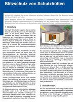 Bild von Blitzschutz für Schutzhütten (Print)
