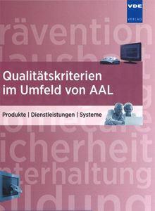 Bild von Qualitätskriterien im Umfeld von AAL (Print)