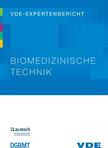 """Bild von VDE-Expertenbericht """"Biomedizinische Technik"""" (Download)"""