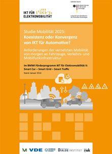 Bild von Studie Mobilität 2025: Koexistenz oder Konvergenz von IKT für Automotive? (Download)