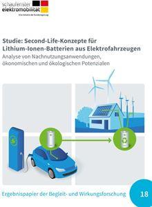 Bild von Studie Second-Life-Konzepte für Lithium-Ionen-Batterien aus Elektrofahrzeugen (Download)
