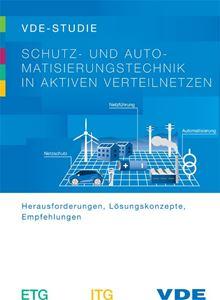 """Bild von VDE-Studie """"Schutz- und Automatisierungstechnik in aktiven Verteilnetzen"""""""