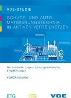 """Bild von VDE-Studie """"Schutz- und Automatisierungstechnik in aktiven Verteilnetzen"""" (Kurzfassung) (Download)"""
