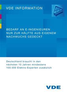Bild von Bedarf an E-Ingenieuren nur zur Hälfte aus eigenem Nachwuchs gedeckt (Download)