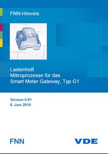 Bild von FNN-Hinweis: Lastenheft Mikroprozesse für das Smart Meter Gateway, Typ G1 (Download)