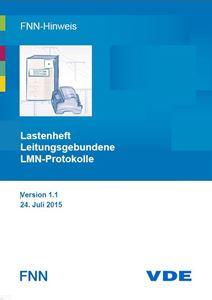 Bild von FNN-Hinweis: Lastenheft Leitungsgebundene LMN-Protokolle - Version 1.1 (Download)