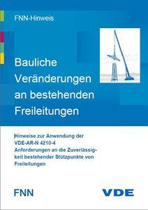 Bild von FNN-Hinweis: Bauliche Veränderungen an bestehenden Freileitungen (Download)