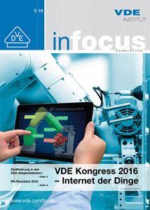 Bild von VDE inFocus 05/2016