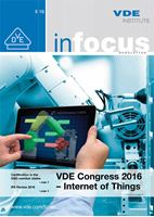 Bild von VDE inFocus 05/2016 (english) (Download)