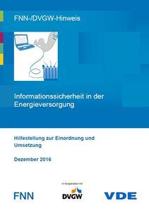 Bild von FNN-/DVGW-Hinweis: Informationssicherheit in der Energieversorgung (Download)