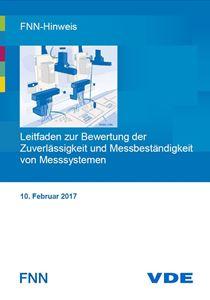 Bild von FNN-Hinweis: Leitfaden zur Bewertung der Zuverlässigkeit und Messbeständigkeit von Messsystemen (Download)