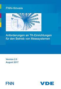 Bild von FNN-Hinweis: Anforderungen an TK-Einrichtungen für den Betrieb von Messsystemen (Download)