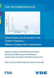 Bild von FNN-Recommendation: Determination and Evaluation of the System Frequency - Effects of System-Side Interferences (Download)