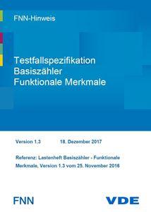 Bild von FNN-Hinweis: Testfallspezifikation Basiszähler - Funktionale Merkmale - Version 1.3 (Download)